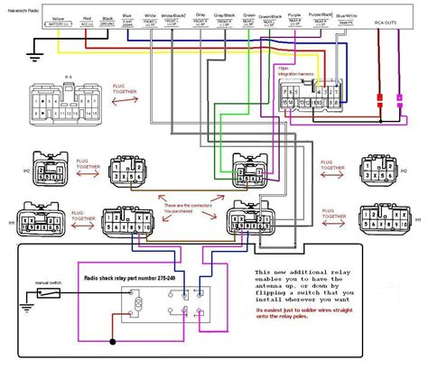automobile radio wiring diagram wiring diagram with