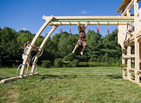 backyard playsets with monkey bars activity ladder monkey bars zip line rings via