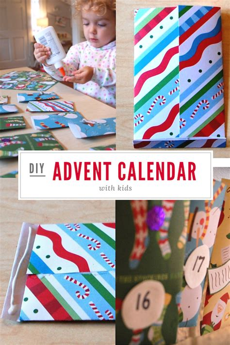 calendars for children to make diy activity advent calendar tinkerlab