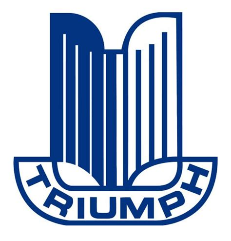 Aufkleber Triumph Logo by Triumph Logo 2 Irace Design