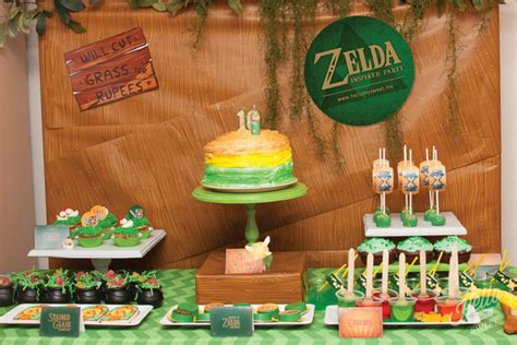 zelda themed birthday party zelda birthday party printables hello my sweet