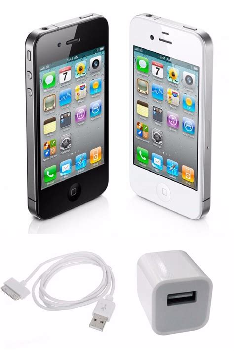 4 iphones t mobile apple iphone 4 unlocked 8gb 16gb black white at t t mobile smartphone ebay