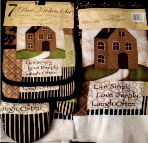 country kitchen linens kitchen towels decorative themes country apple