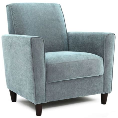 solid blue accent chair club chairs office furniture