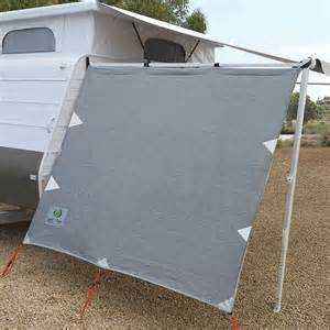 rv awning sun screen coast pop top privacy screen sun shade end wall side for