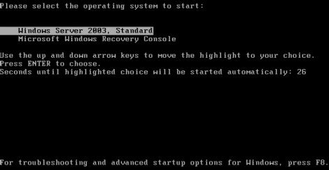 recovery console how to install recovery console as ntldr boot startup