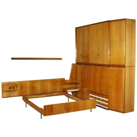 maple bedroom furniture 1950 bedroom wardrobe and bed maple veneer mahogany