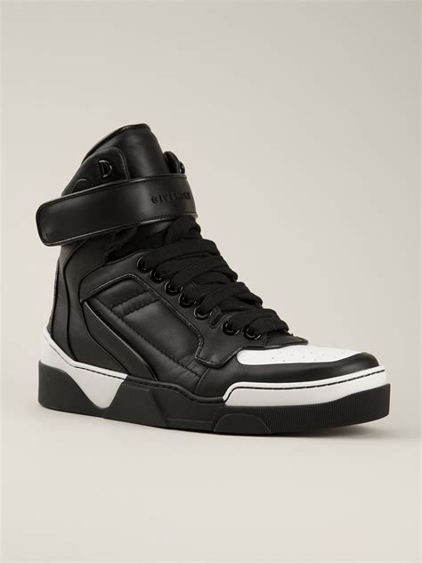 givenchy sneakers sale givenchy tyson high top sneakers in black for lyst