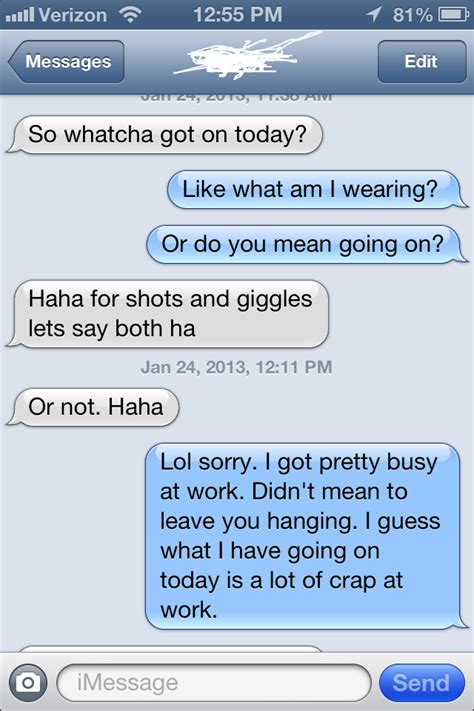 Sexting Examples For Girls To Say Guys Loading