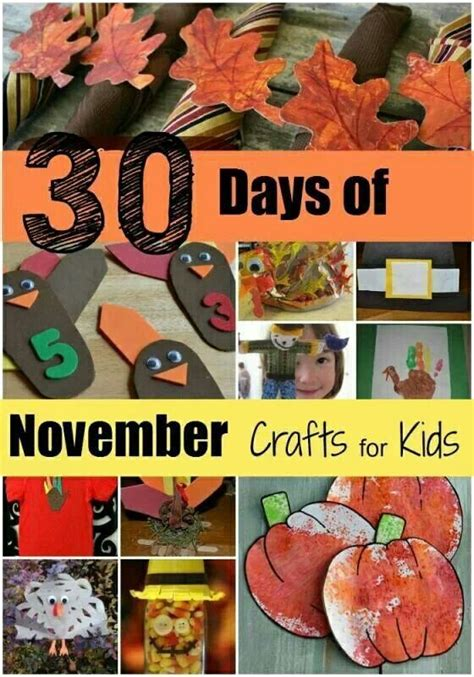 November Crafts Education