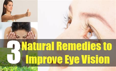 how to improve eye vision naturally eye exercise to