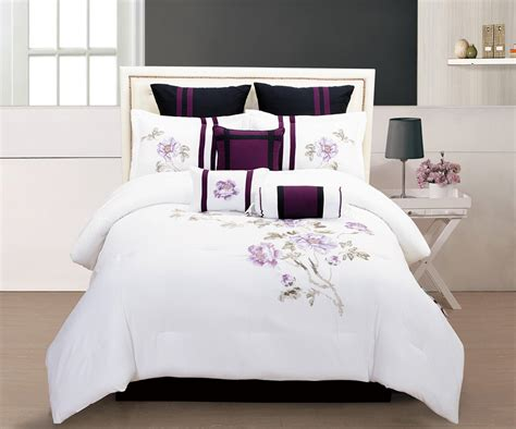 bedroom comforters sets get alluring visage by displaying a white comforter sets