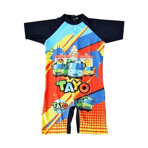 Baju Renang Laki Laki jual baby motif tayo baju renang anak laki laki biru dongker harga kualitas