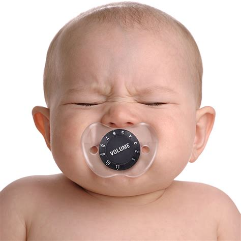 Volume Knob Pacifier chill baby volume pacifier gadgets matrix