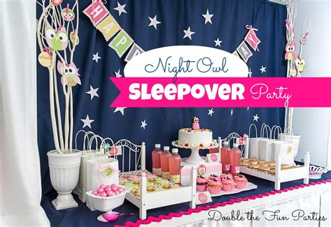 themes for a girl slumber party image gallery sleepover party