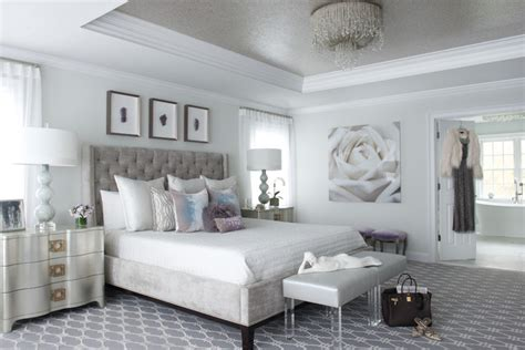 modern glam bedroom modern glam transitional bedroom new york by susan glick interiors