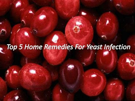 top 5 home remedies for yeast infection