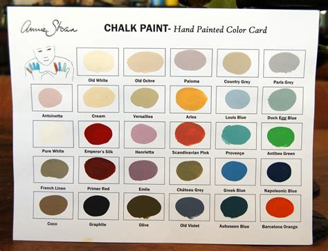 sloan chalk paint colors options paint inspirationpaint inspiration