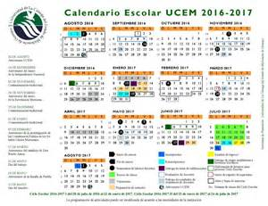 calendario escolar argentina 2017 2018 calendario escolar ucem 2016 2017 universidad de la
