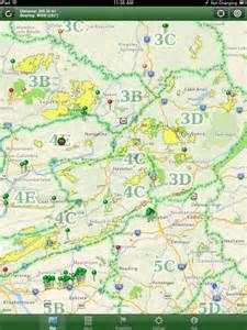 Pa State Game Lands Map by App Shopper Pa State Game Lands Sports