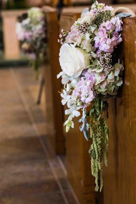 flower design vintage weddings ceremony d 233 cor photos church pew arrangement inside