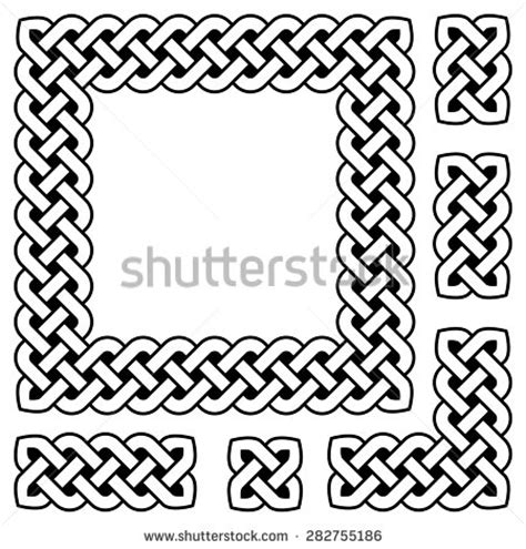 cornici celtiche celtic frame stock images royalty free images vectors