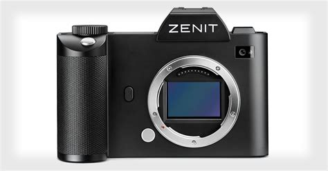 zenit camaras zenit s full frame mirrorless camera to be a rebranded