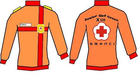 Desain Baju Pmr Lengan Panjang | desain pdl pmr angkatan 13 smanci red cross