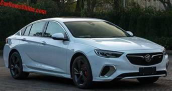buick regal buick regal gs leaked potential 2018 commodore hsv