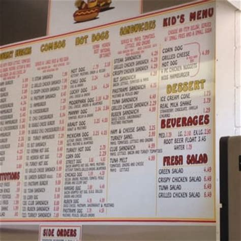the dog house menu lucky s dog house 43 photos 56 reviews hot dogs 215 n moorpark rd thousand