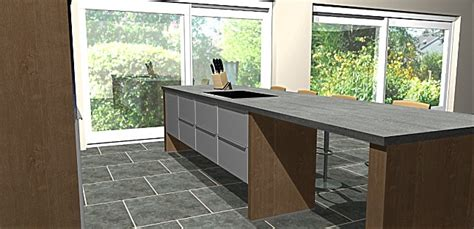 schwebende küche grau gr 252 ne k 252 che