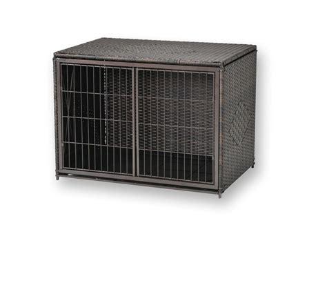 wicker crate side opening crate durable wicker house pen kennel 4 sizes mr herzhers ebay
