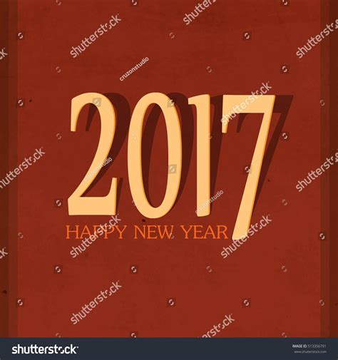 happy new year lettering greeting happy new year lettering greeting card stock vector