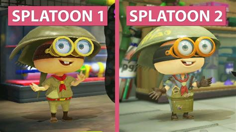 emuparadise u vs e splatoon 1 wii u vs splatoon 2 switch demo graphics