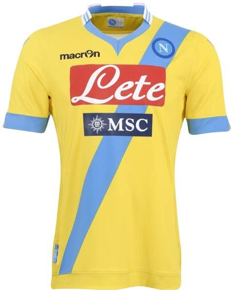 Jersey Napoli Away 2012 2013 new napoli kit 13 14 macron ssc napoli home away third jerseys 2013 2014 football kit news