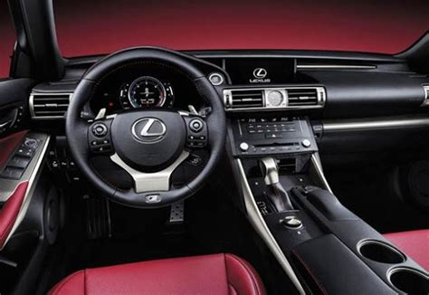 lexus is300 2017 interior 2017 lexus is350 redesign specs release date changes
