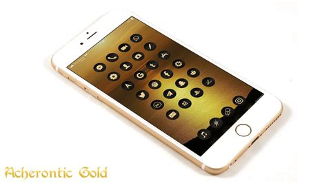 gold themes for iphone iphone black gold theme acherontic gold ios 9 9 3