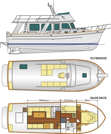 small yacht layout explorer 43 explorer motor yachts
