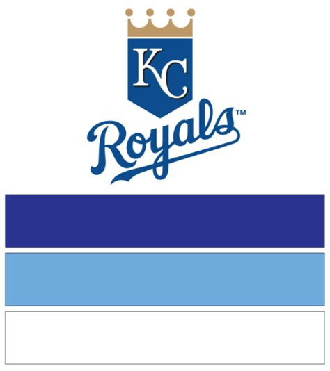 kc colors kansas city royals baseball nail designs