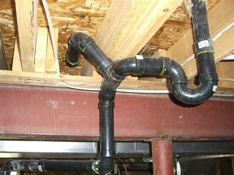 move kitchen drain line   RIDGID Plumbing, Woodworking