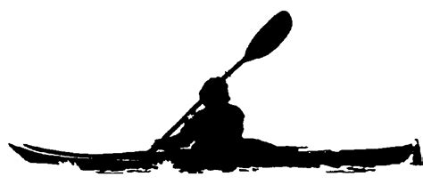 kayak clipart kayak clipart black and white www imgkid the image