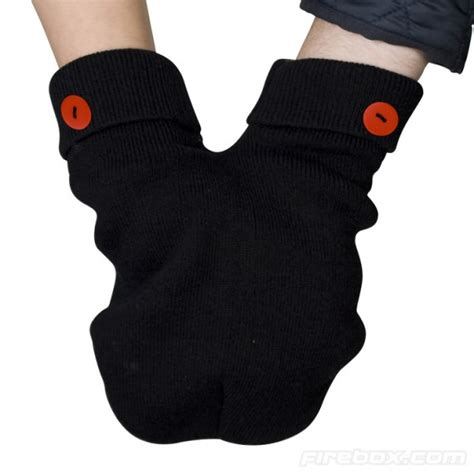 Smittens For Holding In The Cold by Smittens A Holding Mitten For Two