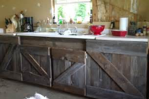 i made that myself barn wood kitchen cabinets
