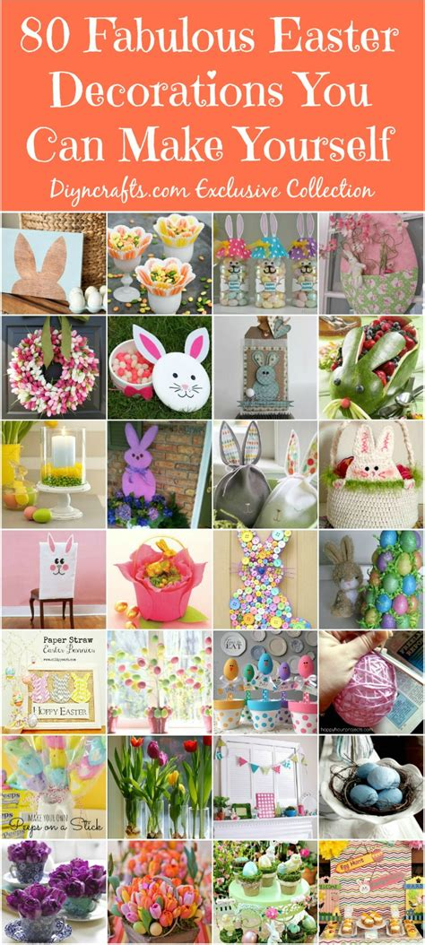 make your own decorations 80 fabulous easter decorations you can make yourself diy
