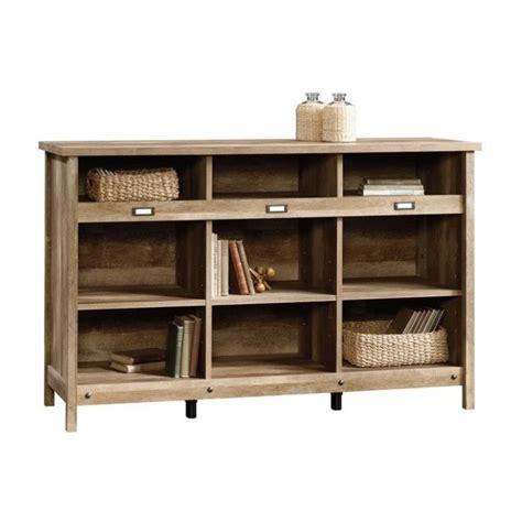 adept 9 cubby storage unit in craftsman oak 418344
