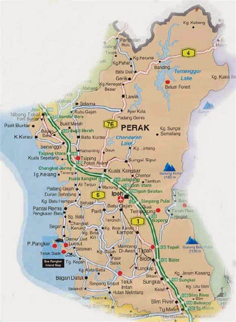 malaxi perak map