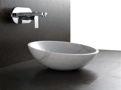Apollo Polished White Stone Basin Sink Modern Modern Bathroom Basins