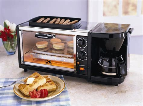 Egg And Bread Toaster 5 Multi Tasking Breakfast Gadgets Brit Co