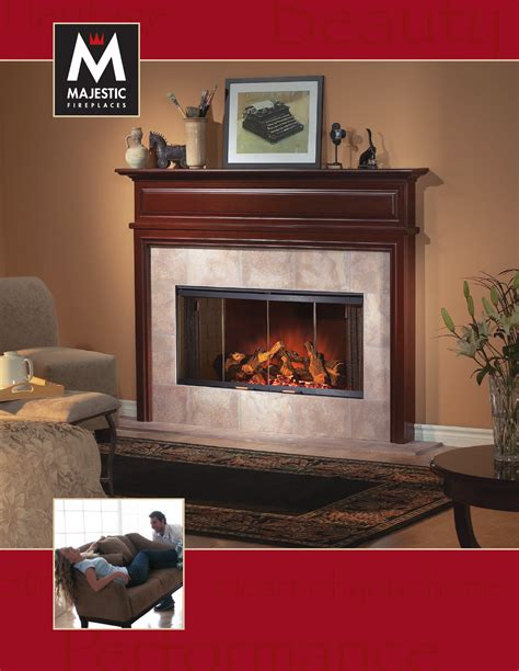 majestic indoor fireplace bref36 user guide