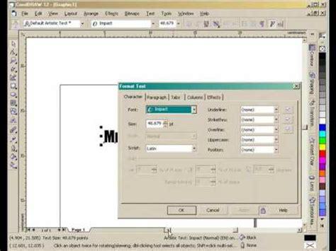 tutorial belajar desain grafis belajar desain grafis artistik text tutorial pemula